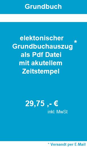 Preis Grundbuchauszug